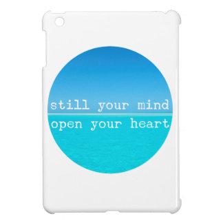 Inhalieren Sie ausatmen entspannenMeditational iPad Mini Hülle