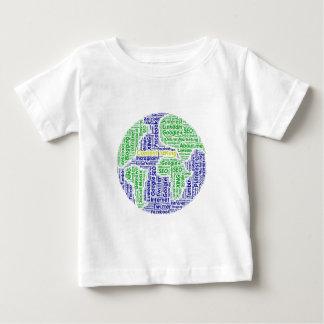 Inhalt-seinkönig Wortwolke Sozialmedium-Text Baby T-shirt