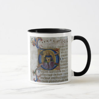 "Initiale ""D"" Frau 531 f.169v Historiated Ki Tasse"