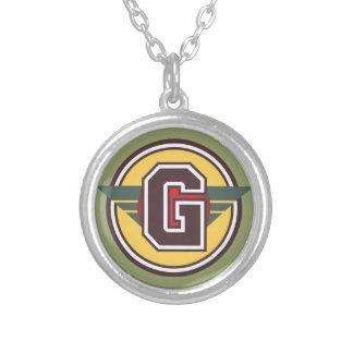 """Initiale des Deko-Monogramm-Buchstabe-""""G"""" Amuletten"""