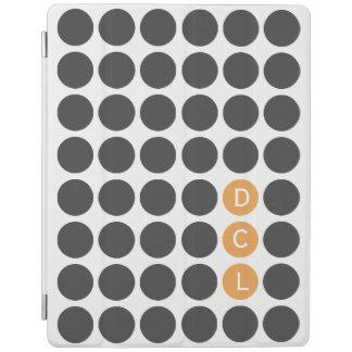 Initiale drei punktiert iPad smart cover