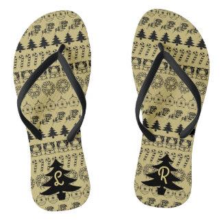 Initiale - flip flops