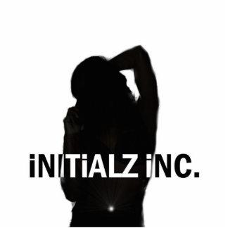 Initialz Inc. Logo-Bildhauer Photo Statue