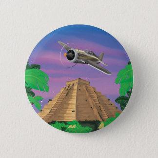 Inka-Abenteuer Runder Button 5,7 Cm