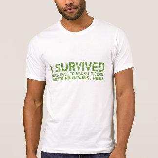 Inka-Hinterüberlebend-T-Stück T-Shirt