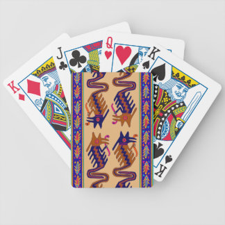 Inka-Stammes- Schlange Bicycle Spielkarten