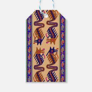 Inka-Stammes- Schlange Geschenkanhänger