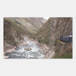 Inkaschienenzug zu Machu Picchu Aufkleber