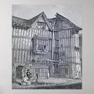Inländische Architektur 1791 Plakatdruck