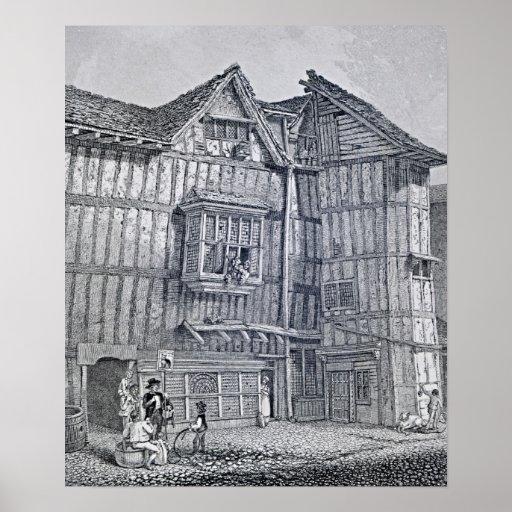 Inländische Architektur, 1791 Plakatdruck