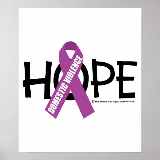 Inländische Gewalt-Hoffnung Plakatdrucke