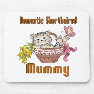 Inländische kurzhaarige Katzen-Mamma Mousepads