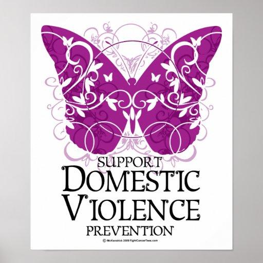 Inländischer Gewalt-Schmetterling Posterdruck