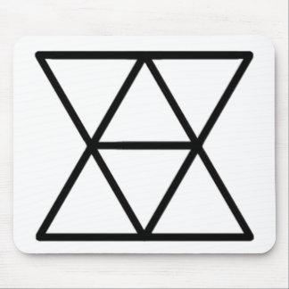 Inländisches Diplomat-Logo Mousepad