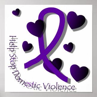 Inländisches Gewalt-Bewusstseins-Plakat