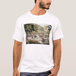 Inländisches Leben in Kupang, überziehen Timor, 10 T-Shirt