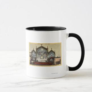 Innenansicht von St Anne Kirche Tasse
