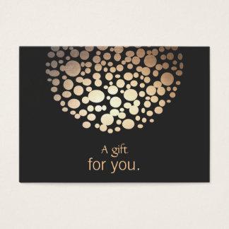 Innenarchitekt-Beleuchtungs-Geschenkgutschein Jumbo-Visitenkarten