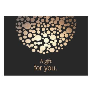 Innenarchitekt-Beleuchtungs-Geschenkgutschein Mini-Visitenkarten