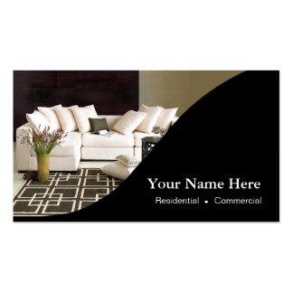 Innenarchitekt-Zuhause-Inszenierung Visitenkarten