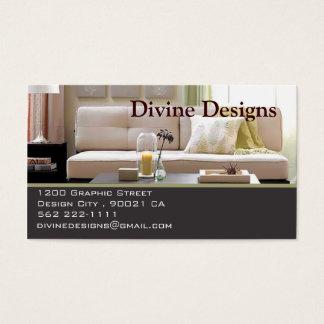 Innenarchitektur - besonders angefertigt visitenkarten