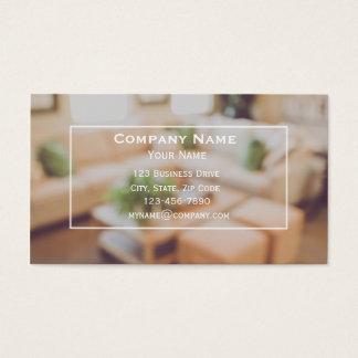 Innenarchitektur-Visitenkarte Visitenkarte