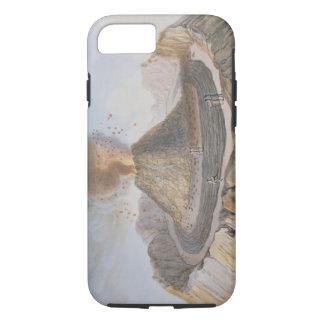 Innenraum des Kegels von Vesuv vor dem E 1767 iPhone 8/7 Hülle