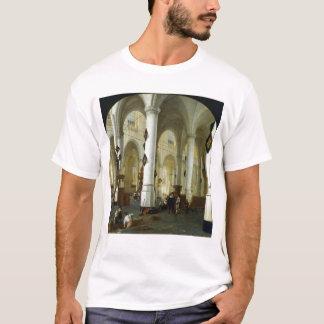 Innenraum des Oude Kerk in Delft T-Shirt