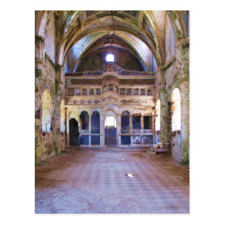 Innenraum, Kirche, Panayia Pyrgiotissa, Kayakoyu Postkarte