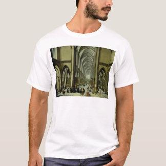 Innenraum von Antwerpen-Kathedrale T-Shirt