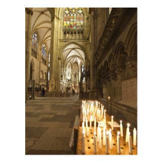 Innenraum von St Peter Kathedrale in Regensburg Postkarten