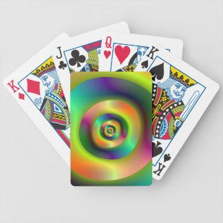 Innere äußere Ring-Spielkarten Bicycle Spielkarten
