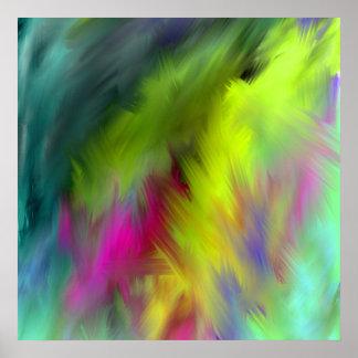 innere klare abstrakte Kunst Ab44 Poster