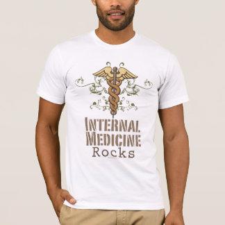 Innere Medizin schaukelt Caduceus-T-Shirt T-Shirt