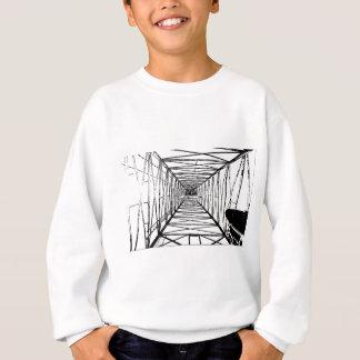 Innere Öl-Ölplattform-Skizze Sweatshirt