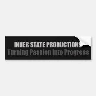 Innere Staats-Produktionen Autoaufkleber