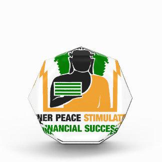 Innerer Frieden regt Finanzerfolg an Auszeichnung