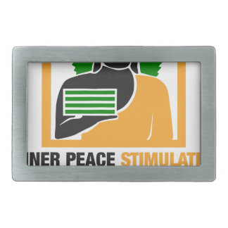 Innerer Frieden regt Finanzerfolg an Rechteckige Gürtelschnallen