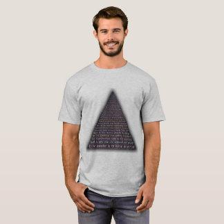 Innerer Friedenspyramide-T - Shirt