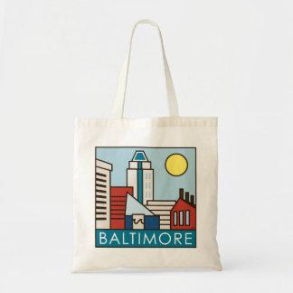 Innerer Hafen Baltimores Budget Stoffbeutel