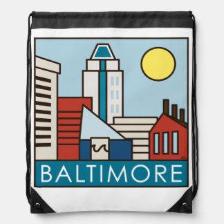 Innerer Hafen Baltimores Turnbeutel