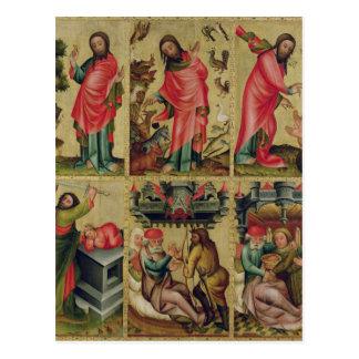 Innerer links Flügel des hohen Altars Postkarte
