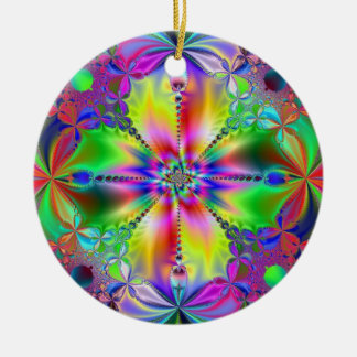 Innerhalb der Blume Keramik Ornament