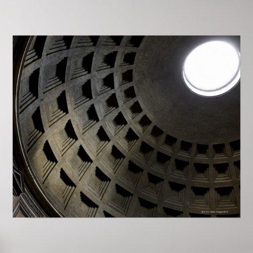 Innerhalb des Pantheons Plakatdruck