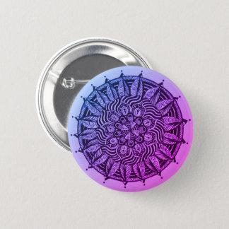 Innerlicher Mandala Runder Button 5,7 Cm