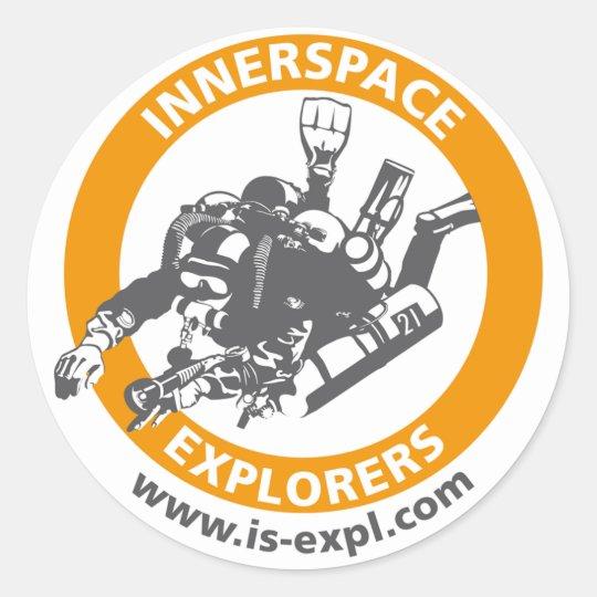 InnerSpace Explorers Aufkleber