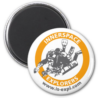 InnerSpace Explorers Magnet Kühlschrankmagnet