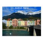 Innsbruck Österreich Postkarte
