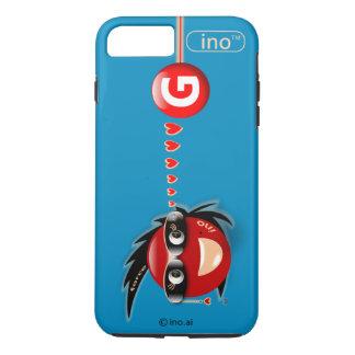 Ino G Kraft-SozialSupermodel iPhone 7 Plusfall iPhone 8 Plus/7 Plus Hülle