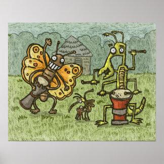 Insekten-Band Poster